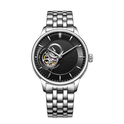 <strong>Hot</strong> and Best Sell Mechanical Monement Stainless Steel Watch Mens