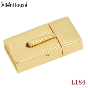 online shopping no stain gold tone plain snap button stainless steel clasps for use with 10x3mm Flat Leather Cord