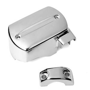X1 Motocycle Brake Master Cylinder Cover For 98-13 Yamaha V-Star 650 950 1100 1300