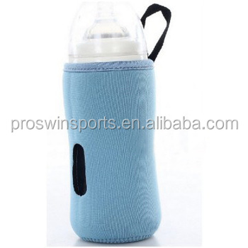 travel portable neoprene milk baby bottle warmer cooler