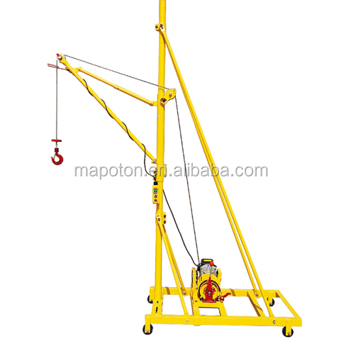 Well Made Rational Construction Man Lift Crane With SGS Certificate