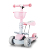 LED Light-Up Wheels Adjustable Kids Three Wheel children scooter ride on car