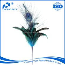 Online Shop Wholesale Handcraft Fashionable High Quality Feather Flower Christmas Decoration