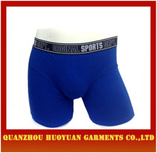 Huoyuan sexy Mens Long Boxer Shorts gay underwear collection