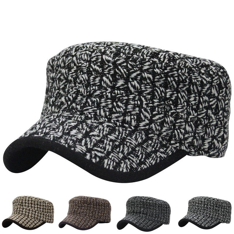 466e1b1d1b5 Get Quotations · 2015 New Military Hats Military Cap Gorra Militar woolen  male female in winter cold proof wool