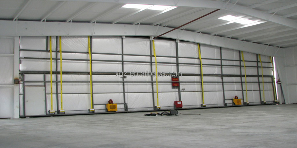 single/long span industrial building structural steel shed