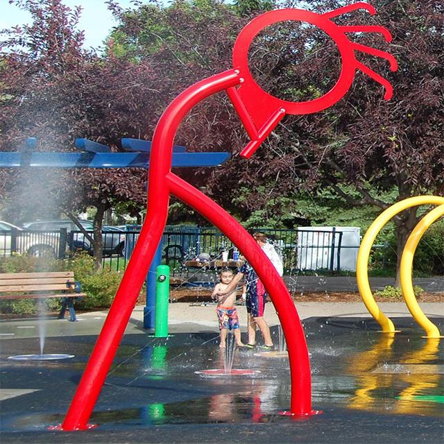 hotel resorts aquatic park water play area design