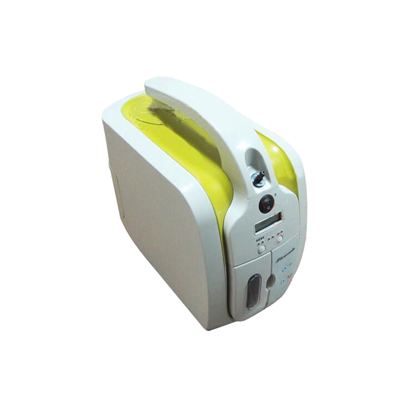 Travel use portable oxygen concentrator for car