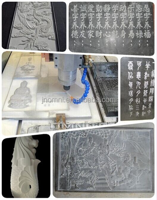 3d stone cnc router / 3D granite stone cutting / cnc marble stone engraving machine price