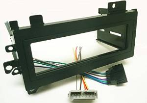 get quotations � dash kit and wire harness for installing a new single din  radio into a jeep wrangler