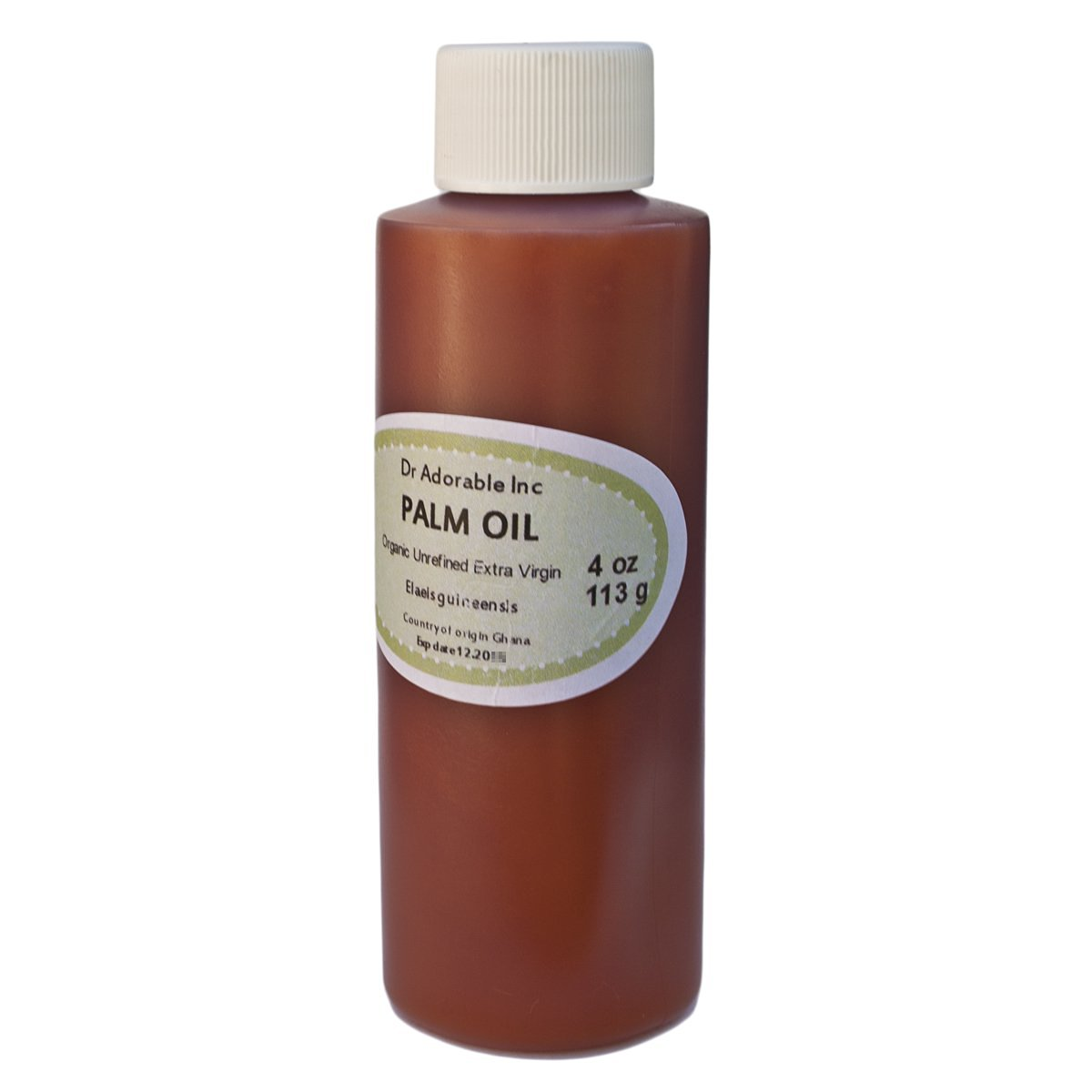 Raw Extra Virgin Red Palm Oil Organic Unrefined 4 Oz
