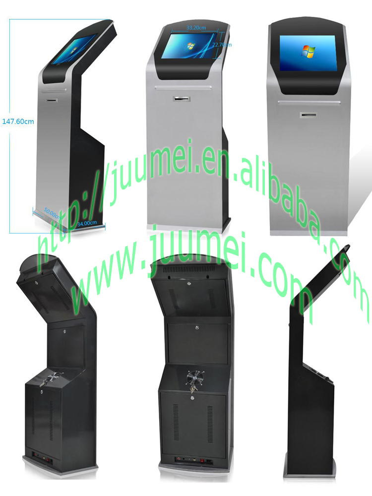 2015 Good Quality Queue Management System Ticket Dispenser Kiosk ...