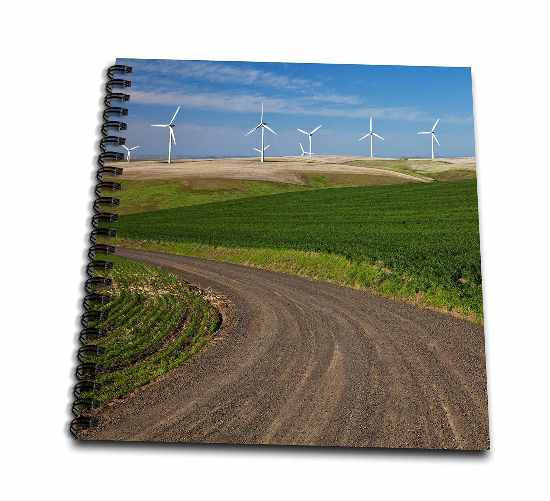 Danita Delimont - Energy - Palouse Wind Energy Generators, Washington, USA - US48 TEG0436 - Terry Eggers - Memory Book 12 x 12 inch (db_148738_2)