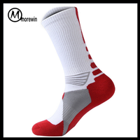 Morewin Brand sport prints compression stockings socks compression