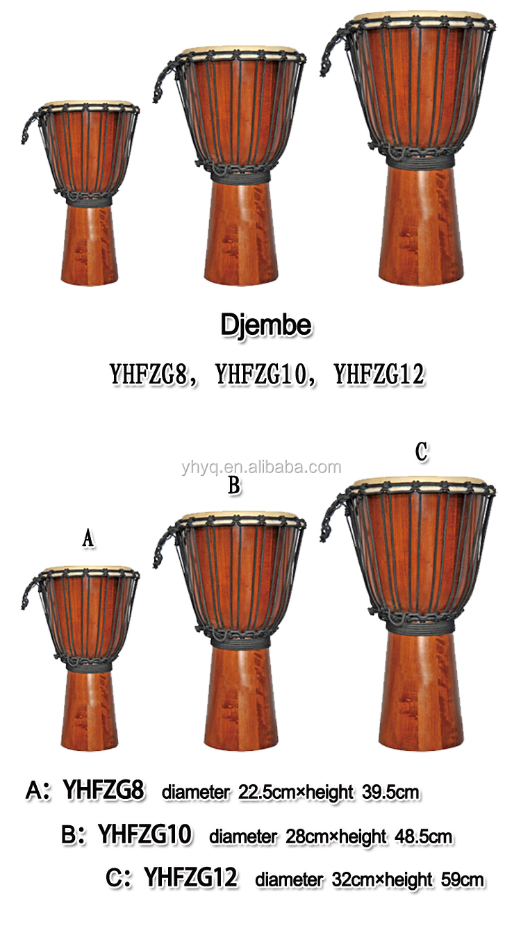 Handmade Percussion Djembe Drum From Africa - 8inch ...