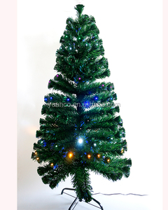 Low Price Holiday Snowing LED Artificial Christmas tree(with Metal Stand)
