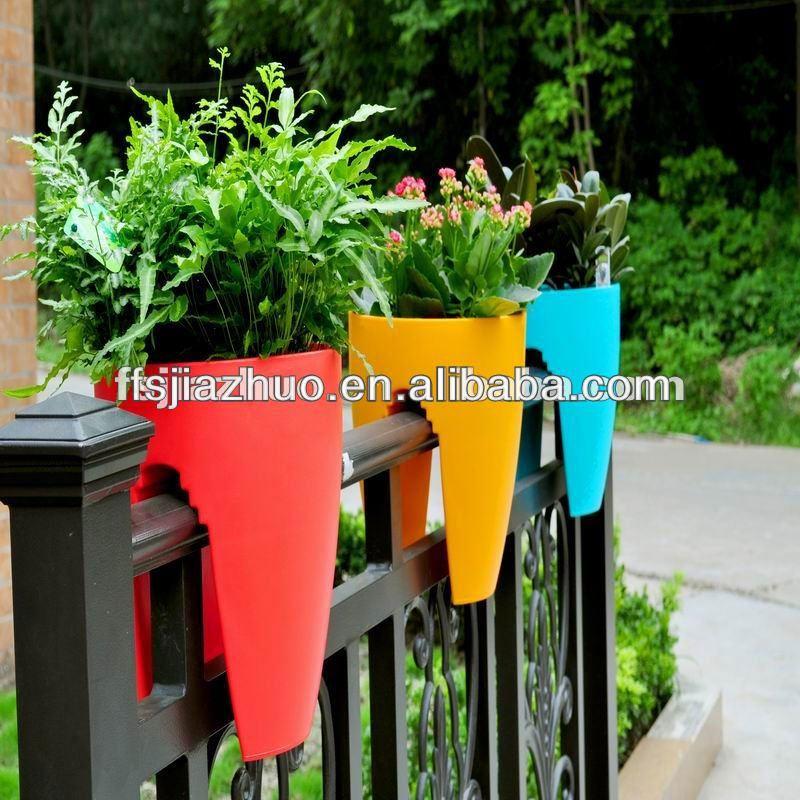 balcone di plastica vasi di fiori ingrosso ringhiera montato ingrosso vasi da fiori che. Black Bedroom Furniture Sets. Home Design Ideas