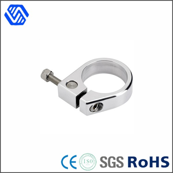 Stainless Steel Pipe Clamp with Nail