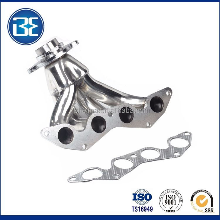 NEW HIGH PERFORMANCE FOR RACING HIGH QUALITY EXHAUST HEADER FIT Civ 2001 2002 2003 2004 2005 1.7L SOHC D17A2 Engines