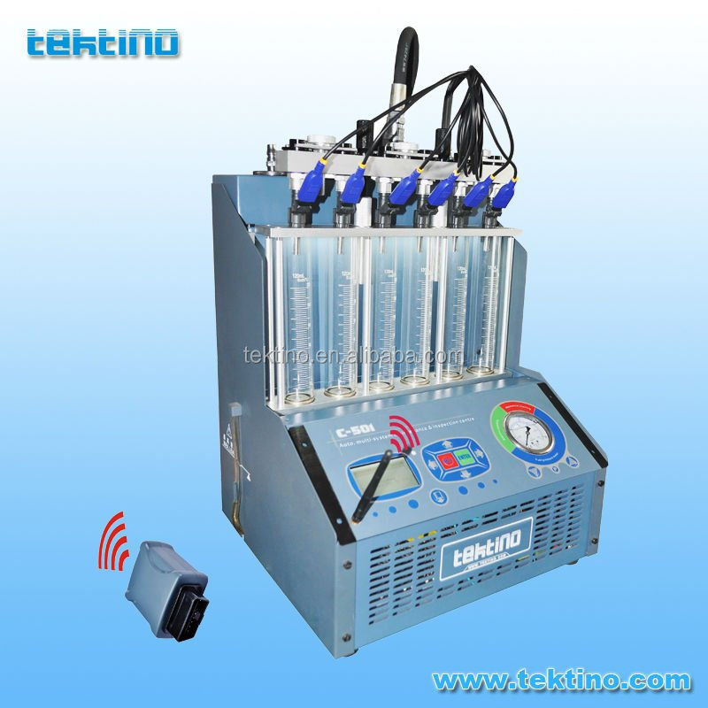 Prezzo di fabbrica, Tektino Ultrasonic Fuel Injector Cleaner e Tester & OBD Diagnosis C-501