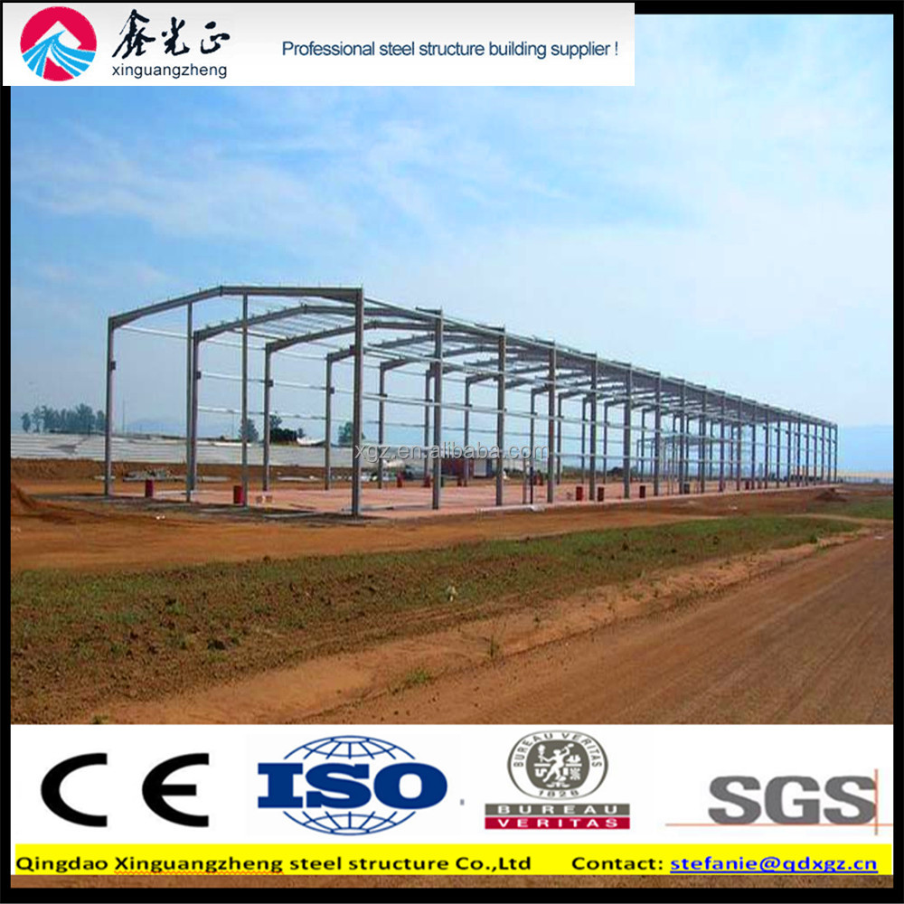 Qingdao sino steel warehouse building