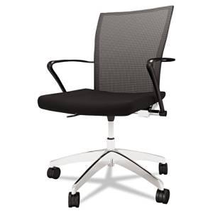 Mayline Valore Series Mesh Back Task Chair, Black