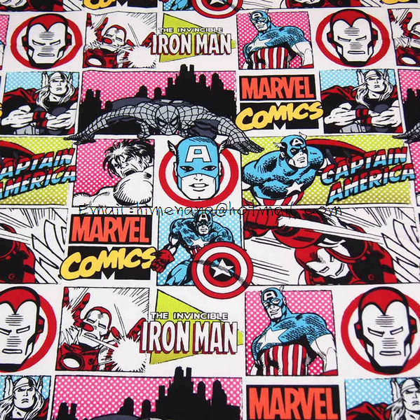 Online Buy Wholesale Marvel Fabric From China Marvel