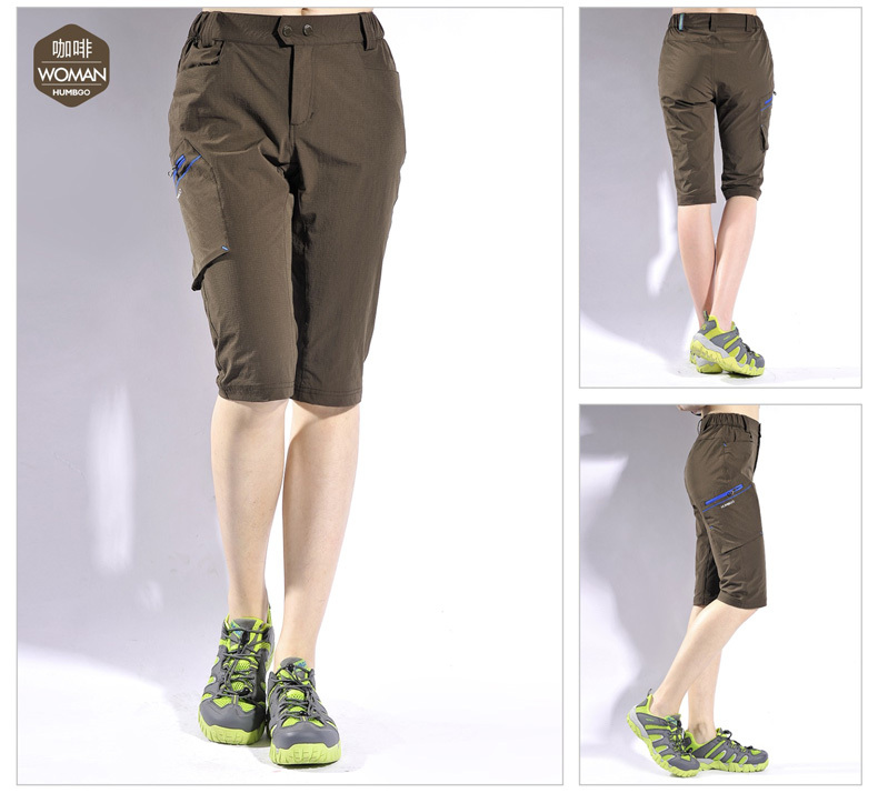 5dd15f3b17 Buy Hot Sale Fashion Brown Womens Quick Dry Shorts High Quailty Ultra Thin  Casual Sport Breathable Camping Hiking Shorts For Women in Cheap Price on  ...
