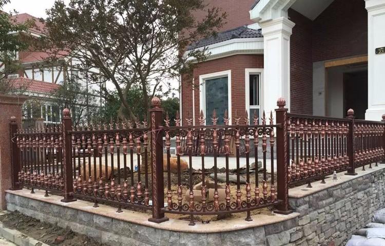 aluminum fence panels black aluminum fence cast aluminum fence decoration