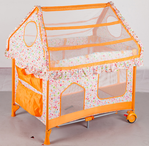 hot sale baby crib and cute baby bed with SGS