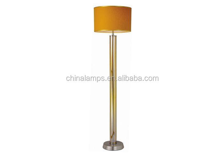 United Kingdom Ce Uk Plug Floor Lamp With Wooden Base And Hotel ...