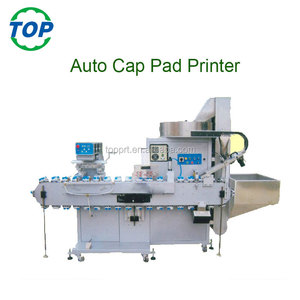 Automatical Bottle Cap Tampo Pad Printer Printing Machine