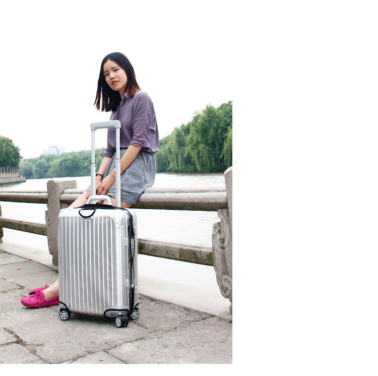 "CLASSIC FLIGHT luggage suitcase cover luggage cover transparent luggage cover 20"" 21"" 22"""