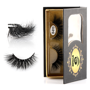 100% Fur Private Label Vegan Mink Eyelashes 3d Silk Mink Lashes