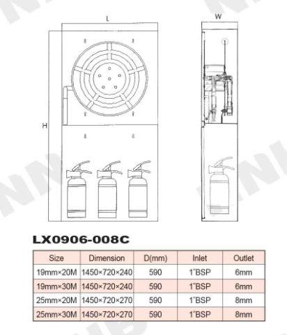 fire hose reel cabinet dimensions   memsaheb.net