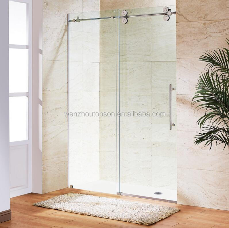 Frameless Sliding Glass Shower Door Hardwareshower Room System
