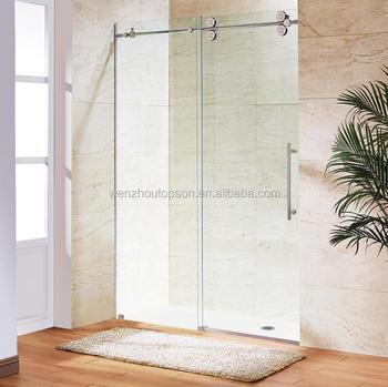 Frameless Sliding Glass Shower Door Hardwareshower Room System