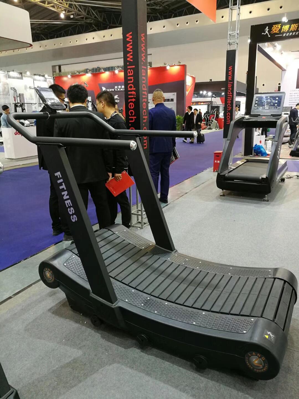 Non-power Running Machine/ Air Treadmill/ Curve Treadmill ...