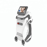 Medical CE approved permanent hair removal machine/three wavelength 755nm alexandrite+808nm diode laser+1064nm nd yag laser