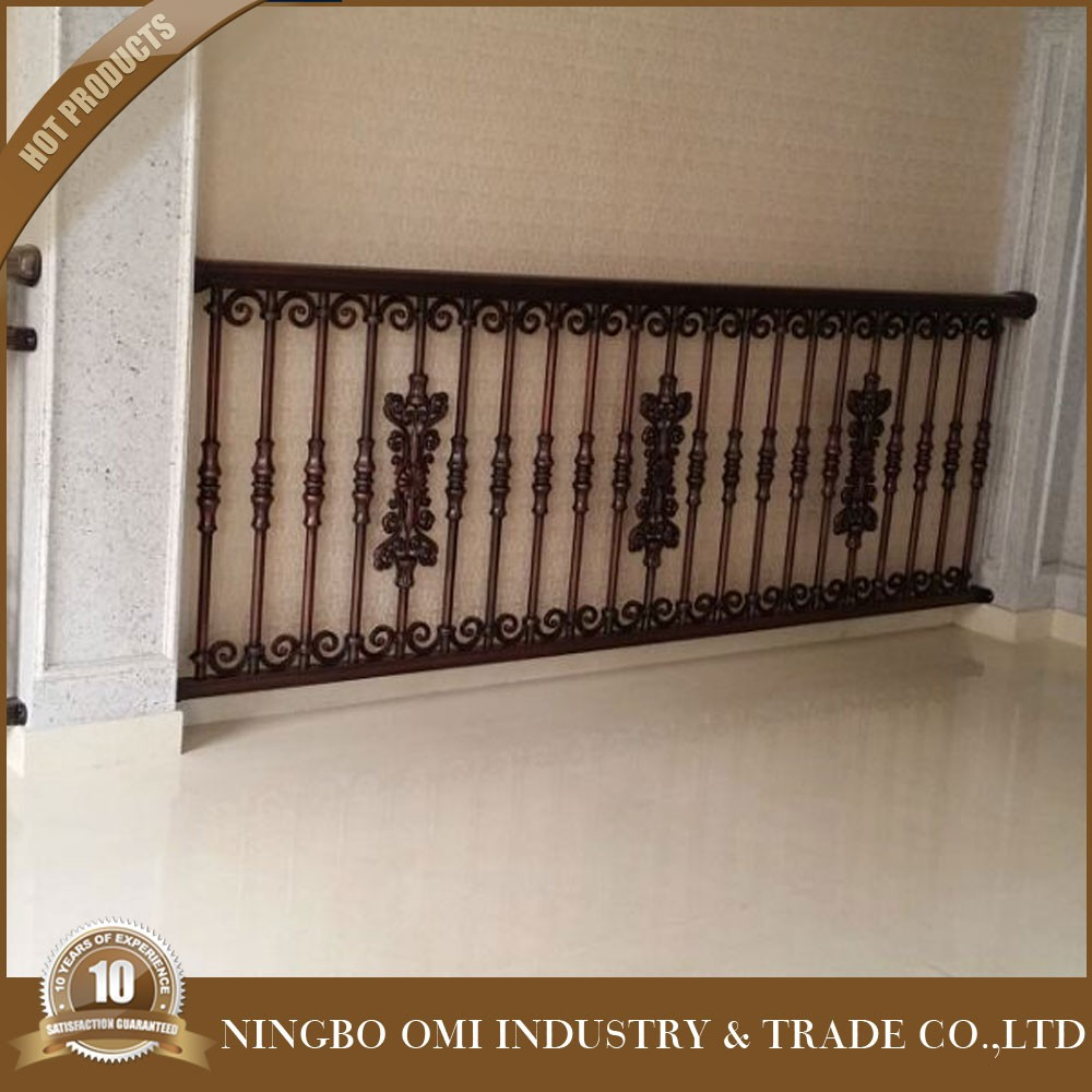2016 new latest cheap wrought iron balcony railing parts for Balcony company