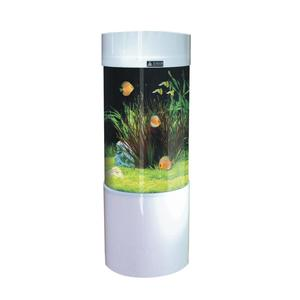 SUNSUN JY-500 acrylic cylindrical fashion aquarium fish tank home