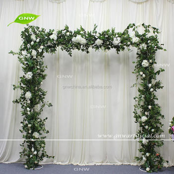 Gnw Flwa170904 004 Forest Theme Green Leaves Wedding Entrance Square