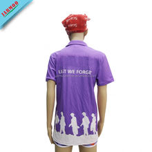 Crew Neck All Over Sublimation Printing T-Shirt With Free Design Service