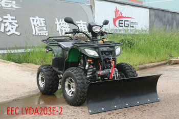 Atv 250cc Eec Quad Bike With Snow Plough Buy Atv 250cc Eec Quad
