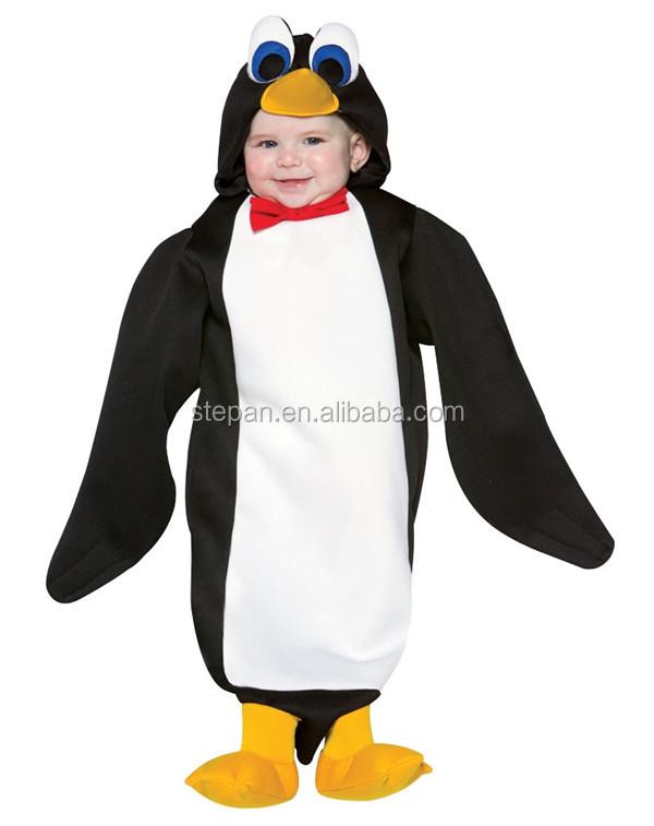 baby pinguin kost m f r halloween andere bekleidung produkt id 1993545458. Black Bedroom Furniture Sets. Home Design Ideas