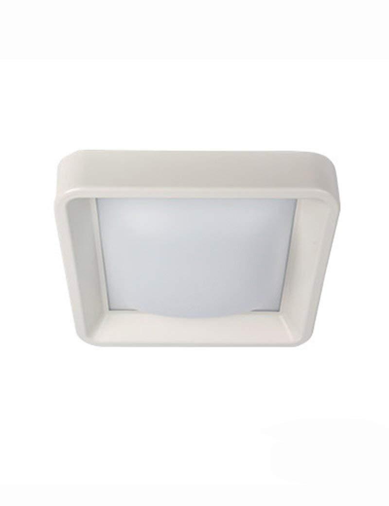 XQY Ceiling Light-Square Led Iron Acrylic Shade Bedroom Study Living Room Aisle Energy Saving