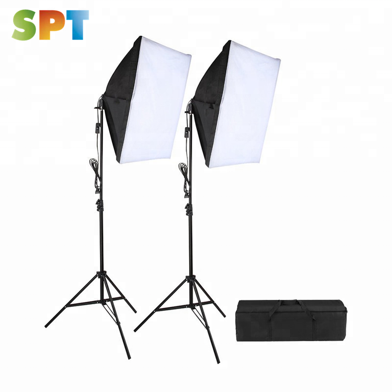 "20""X28"" Soft Box Photography Lighting Kit 800W Continuous Lighting System Photo Studio Equipment"