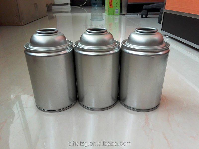 Aerosol Tin Can with no lithography from Guangzhou Sihai