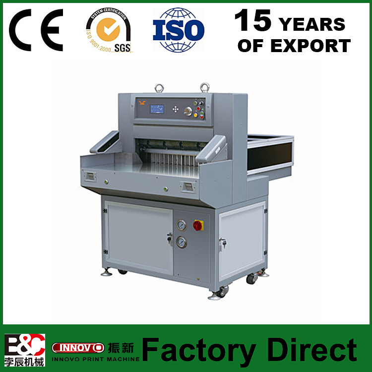QZYX660 Digital display paper cutter hydraulic paper cutting machine