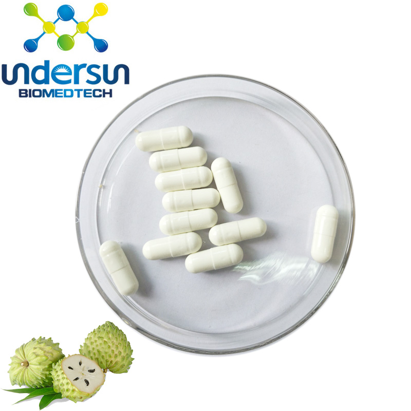Herbal Supplement Cancer Treatment 100% Herbal Extract Soursop Capsules -  Buy Soursop Capsule,Herbal Extract Soursop Capsules,100% Herbal Extract
